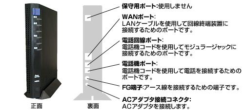 NEC Aterm BL171VA、BL171VA(K)