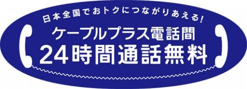 日本全国でおトクにつながりあえる!ケーブルプラス電話間24時間通話料無料